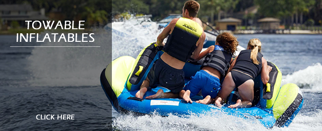 Sale of Towable Inflatable Tubes and Ringos, Boat Ski Tubes and Banana Boats, Water Toys and Sale of Towable Toys
